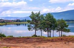 Lake of Vinuesa Stock Images