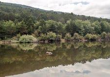 Lake of Vinuesa Royalty Free Stock Images