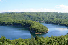 Lake of Vouglans Stock Photos
