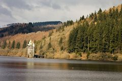 Lake Vyrnwy Stock Image