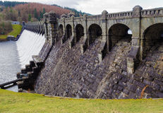 Lake Vyrnwy dam Stock Images