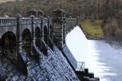 Lake Vyrnwy dam Royalty Free Stock Images