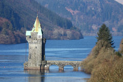 Lake Vyrnwy Reservoir. In wales UK Stock Images
