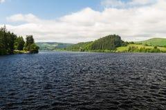 Lake Vyrnwy reservoir dam Stock Photography