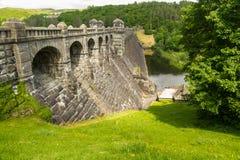 Lake Vyrnwy reservoir dam Stock Image