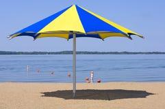 Lake Waconia and Beach Stock Image