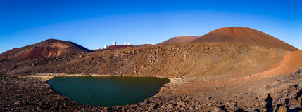 Lake Waiau at Mauna Kea, Big Island, Hawaii. Lake Waiau near the summit of Mauna Kea, Big Island, Hawaii Stock Image
