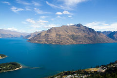 Lake Wakatipi Royalty Free Stock Image