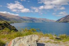 Lake Wakatipu royaltyfri foto