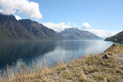 Lake Wakatipu Stock Photo