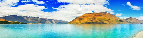 Lake Wakatipu Stock Image