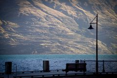 Lake Wakatipu Royalty Free Stock Images