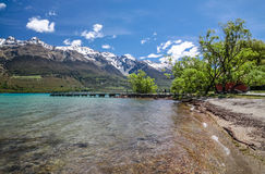 Lake Wakatipu at Glenorchy Royalty Free Stock Photo