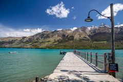 Lake Wakatipu at Glenorchy Royalty Free Stock Photography