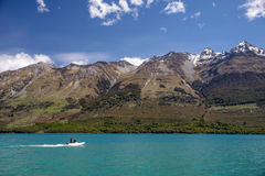 Lake Wakatipu at Glenorchy Stock Photos
