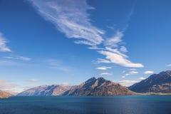 Lake Wakatipu Royalty Free Stock Photography