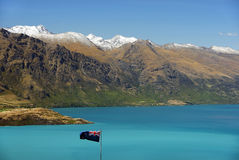Lake Wakatipu, New Zealand Stock Images