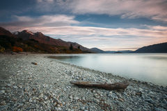 Lake Wakatipu. New Zealand Royalty Free Stock Photo