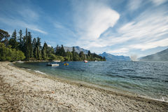 Lake Wakatipu, New Zealand Royalty Free Stock Images