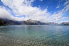 Lake wakatipu New Zealand Stock Photography