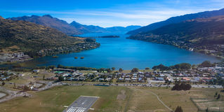 Lake Wakatipu NewZealand Royalty Free Stock Images
