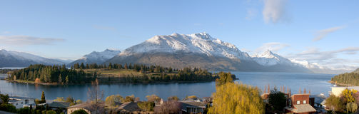 Lake Wakatipu, Queenstown Royalty Free Stock Photography