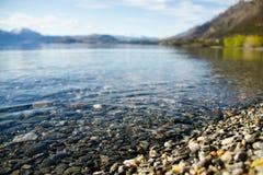 Lake Wakatipu, Queenstown, New Zealand Royalty Free Stock Photos
