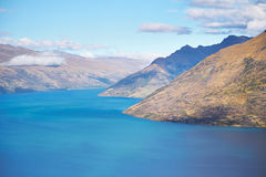 Lake Wakatipu, Queenstown, New Zealand Stock Photo