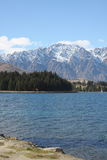Lake Wakatipu and the Remarkables in New Zealand Royalty Free Stock Images