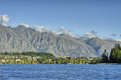 Lake Wakatipu and the Remarkables Royalty Free Stock Image