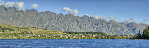Lake Wakatipu and the Remarkables Royalty Free Stock Images