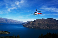 The lake Wakatipu Royalty Free Stock Images