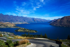 The lake Wakatipu Royalty Free Stock Image