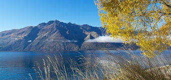Lake Wakatipu Royalty Free Stock Photography