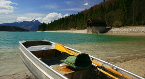 Lake Walchen Stock Photography