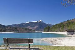 Lake Walchensee Royalty Free Stock Photo