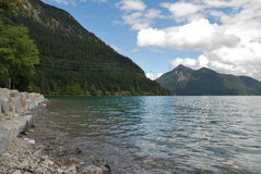 Lake Walchensee Royalty Free Stock Photography