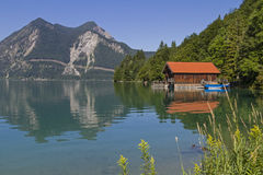 Lake  Walchensee Stock Image