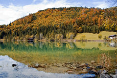 Lake Walchensee in Germany Stock Photo