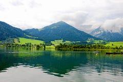 Lake Walchsee Stock Photos