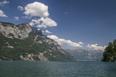 Lake Walensee Royalty Free Stock Image