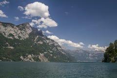 Lake Walensee Royalty Free Stock Image