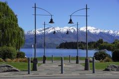 Lake Wanaka. Wanaka, South Island, New Zealand Stock Photography