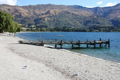 Lake Wanaka Stock Image