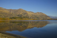 Lake Wanaka. On the South Island of New Zealand Stock Image