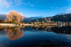 Lake Wanaka Arkivfoto