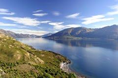 Lake Wanaka. An autumnal view of Lake Wanaka, New Zealand Royalty Free Stock Photo