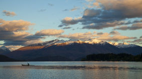 Lake wanaka Royalty Free Stock Image
