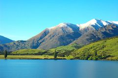 Lake Wanaka, Dublin Bay, New Zealand Royalty Free Stock Photos