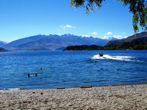 Lake Wanaka, New Zealand Royalty Free Stock Photos
